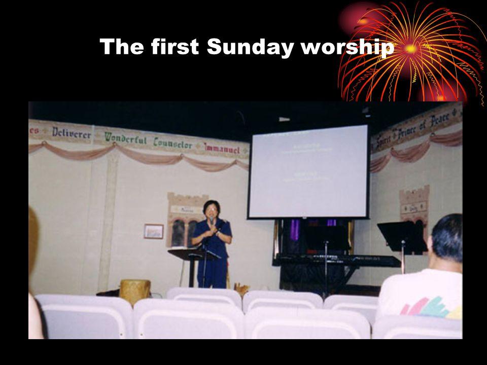 Happy 1 st. Anniversary Chinese Christian Church of Fort Wayne June 19, 2005