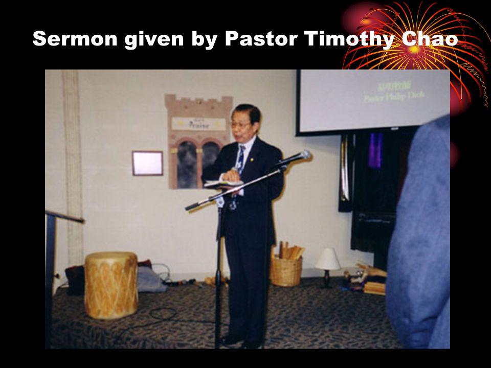 Celebration of CCCFW first Sunday worship
