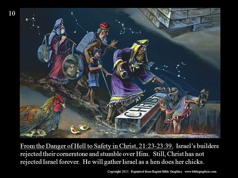 From the Danger of Hell to Safety in Christ, 21:23-23:39.