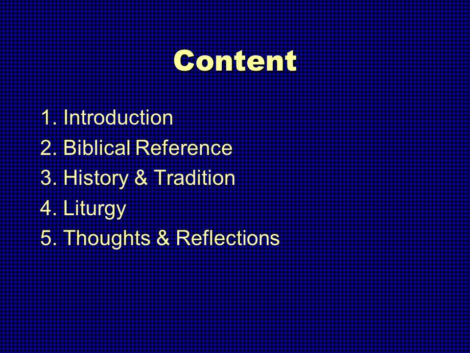 Presentation on Holy Thursday By Joseph Koh, OFM