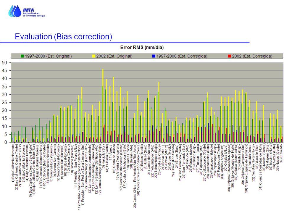 Evaluation (Bias correction)