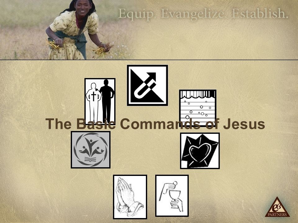 The Basic Commands of Jesus