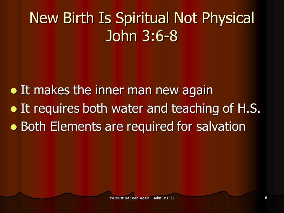 Ye Must Be Born Again - John 3:1-21 9 3.