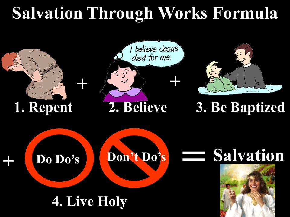 How to be saved.