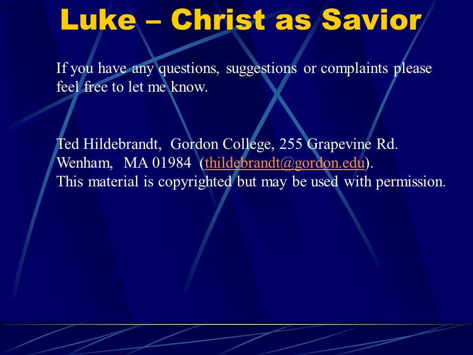 Luke 1 John Baptist's Birth, Mary