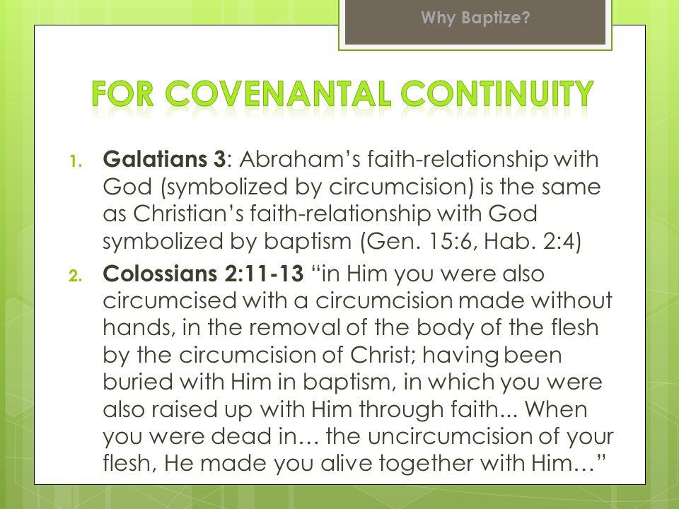 3.Generational succession in all God's covenants a) Noah (c.