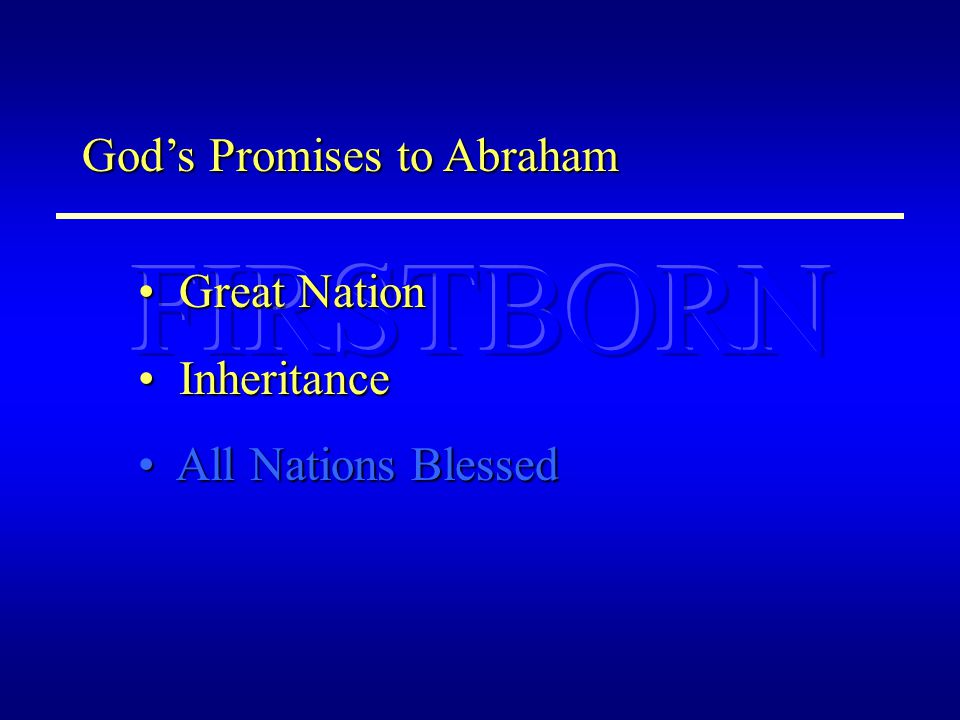 OLD MAN BAPTISM CHRISTIAN HEAVEN CRUCIFIED NATIONS BLESSED Mt SINAI SLAVES GREAT NATION JERUSALEM SININHERITANCE Rom.