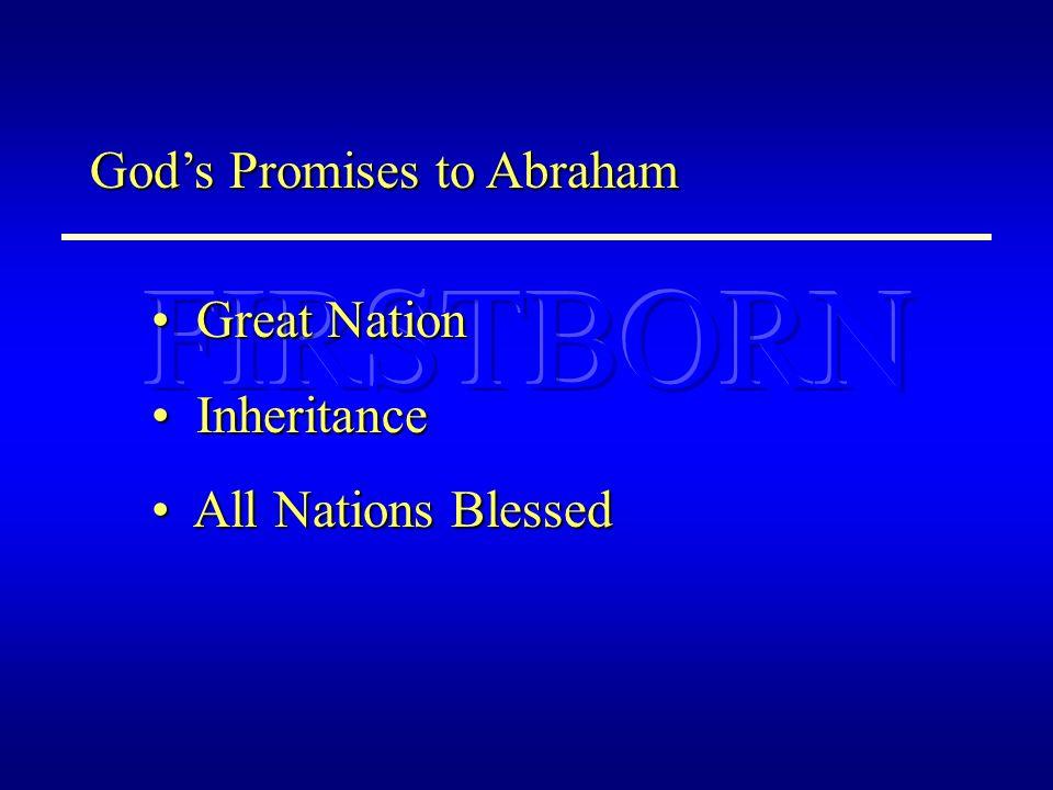 BAPTISM CHRISTIAN HEAVEN CRUCIFIED NATIONS BLESSED Mt SINAI SLAVES GREAT NATION JERUSALEM SININHERITANCE Rom.