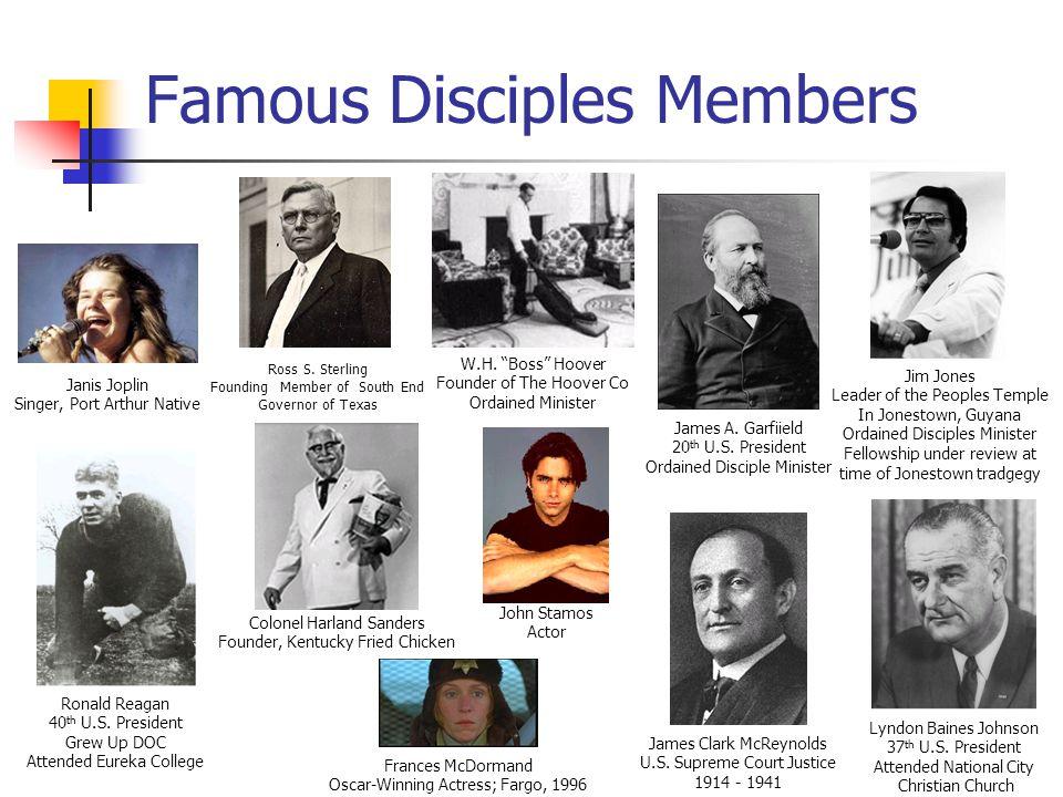 Famous Disciples Members Ross S.