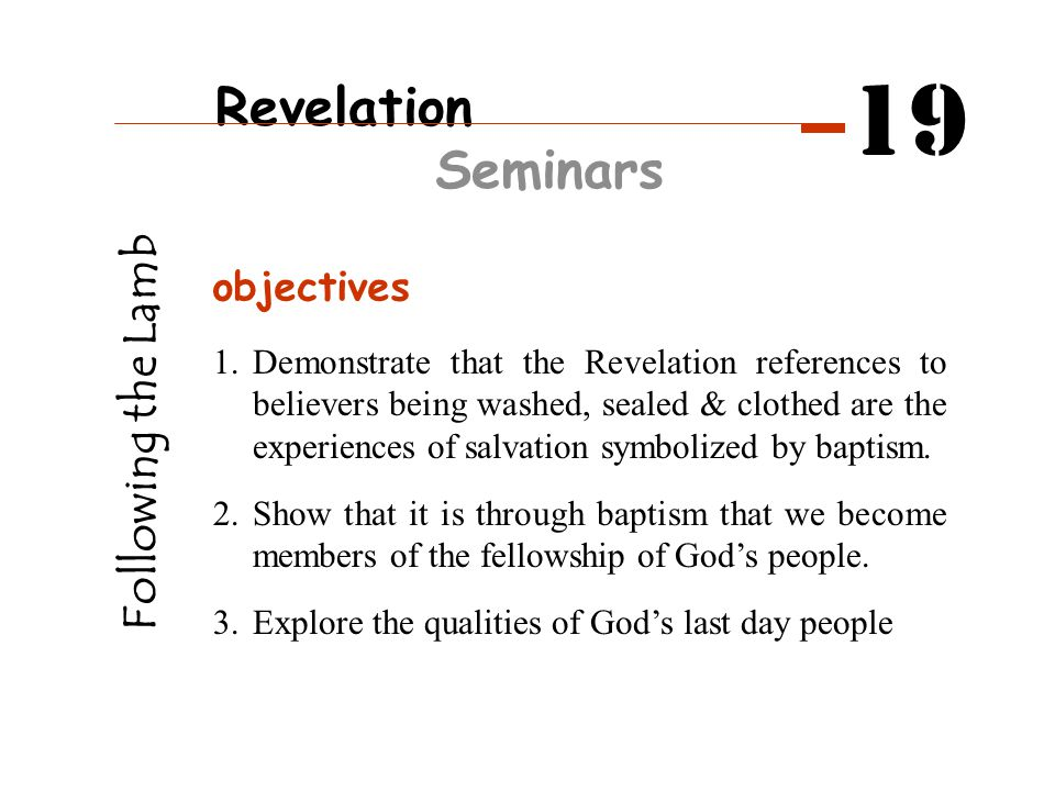 Q1 How is the sacrifice of our Saviour Jesus often portrayed in Revelation.
