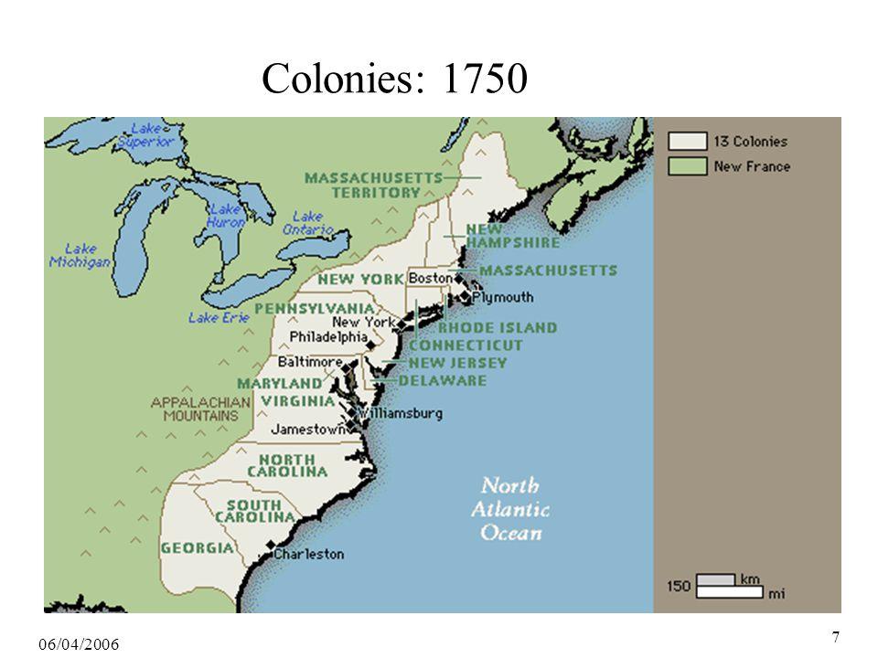 06/04/2006 7 Colonies: 1750