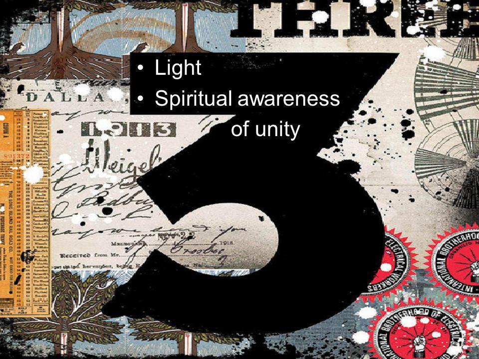 Light Spiritual awareness of unity