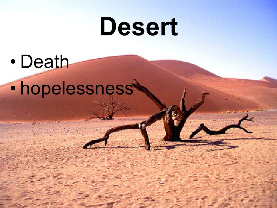 Desert Death hopelessness