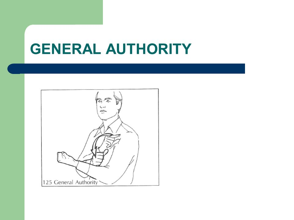 GENERAL AUTHORITY