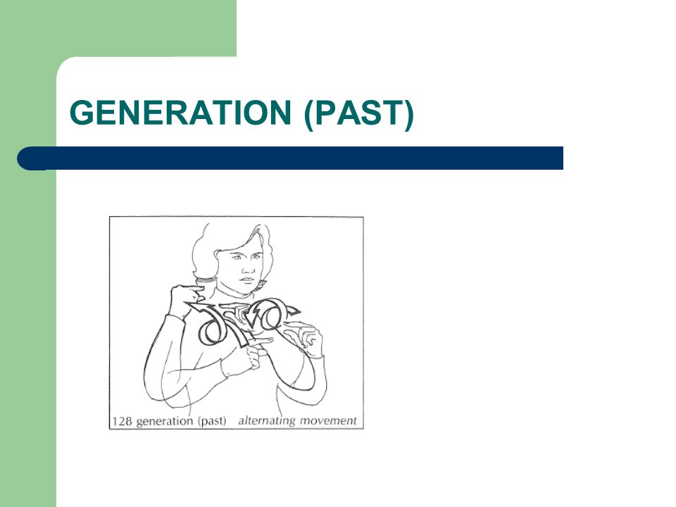 GENERATION (PAST)