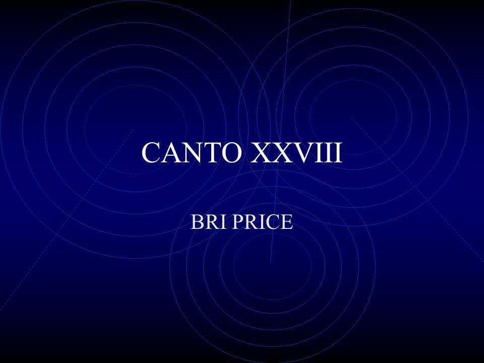 CANTO XXVIII BRI PRICE