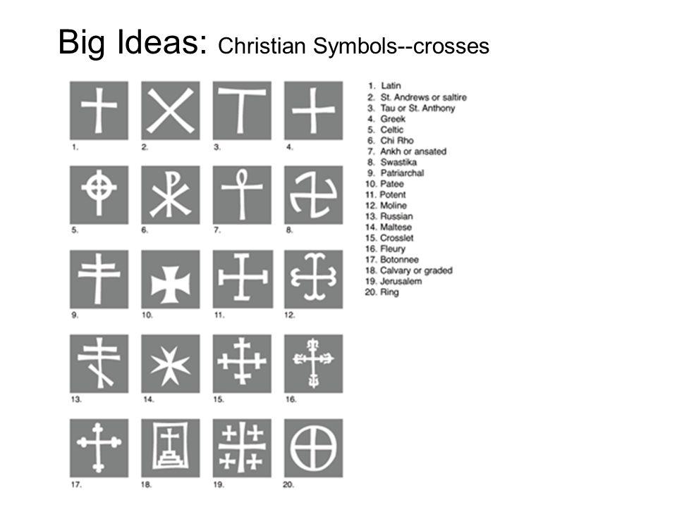 Big Ideas: Christian Symbols--crosses
