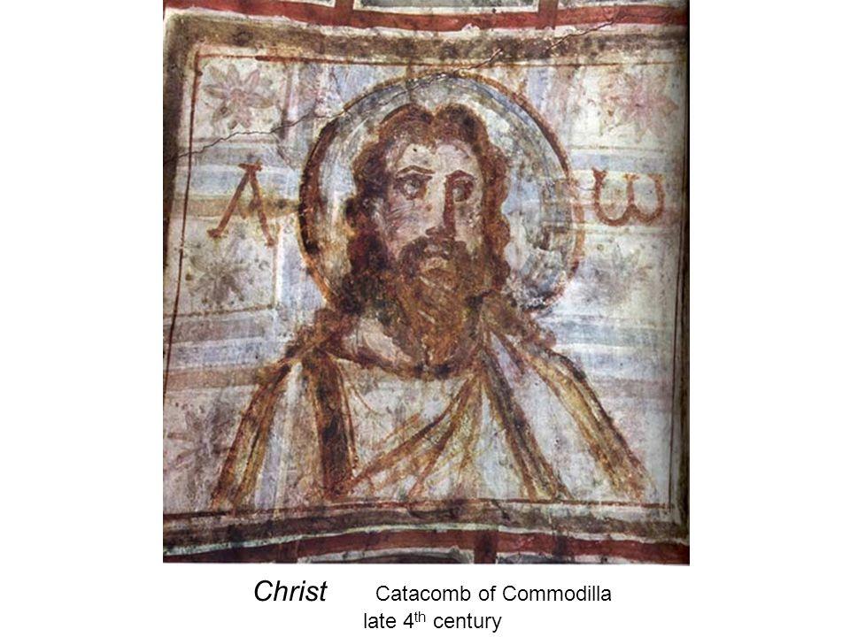 Christ Catacomb of Commodilla late 4 th century