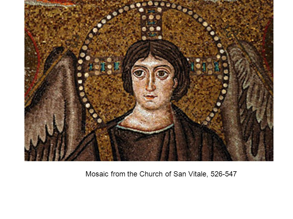 Mosaic from the Church of San Vitale, 526-547