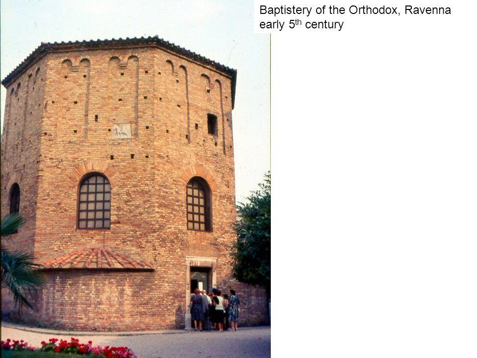 Baptistery of the Orthodox, Ravenna early 5 th century