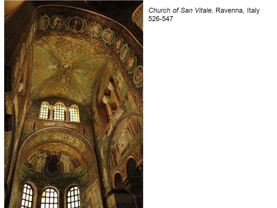 Church of San Vitale, Ravenna, Italy 526-547
