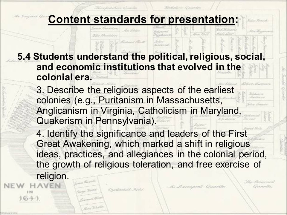 Document set 2: Puritans (Massachusetts) Here are questions we should consider as we examine these documents: What do church architecture & worship practices tell us about Puritans' attitudes toward power and hierarchy.