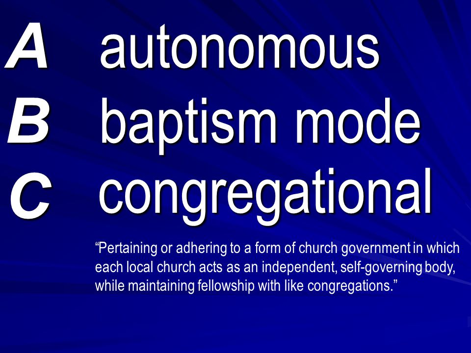 Baptist Statistics √ The largest of the Baptist denominations: ► Southern Baptist Convention (80%): ( Great Com- mission Baptists ) 19,896,975 / 50,816 churches ► Southern Baptist Convention (80%): ( Great Com- mission Baptists ) 19,896,975 / 50,816 churches