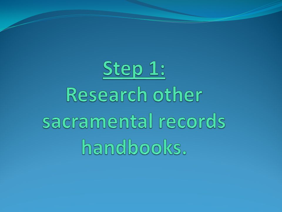 Dioceses with Sacramental Records Handbooks Archdiocese of Cincinnati Diocese of Dallas Diocese of Charleston Archdiocese of Baltimore Diocese of Fargo Archdiocese of Atlanta