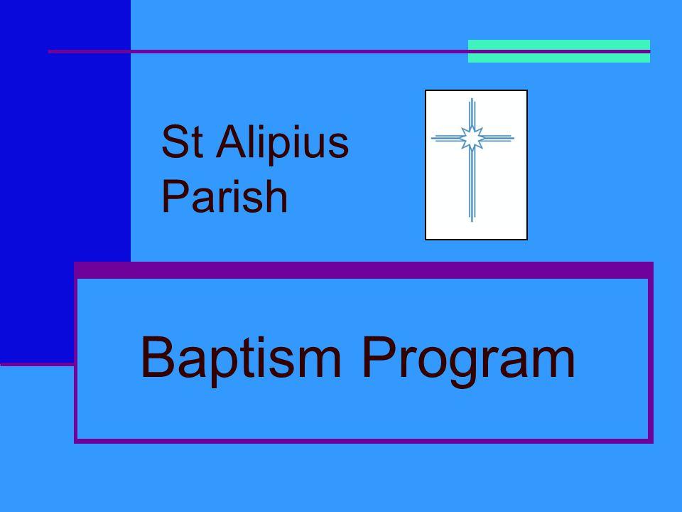 St Alipius Parish Baptism Program