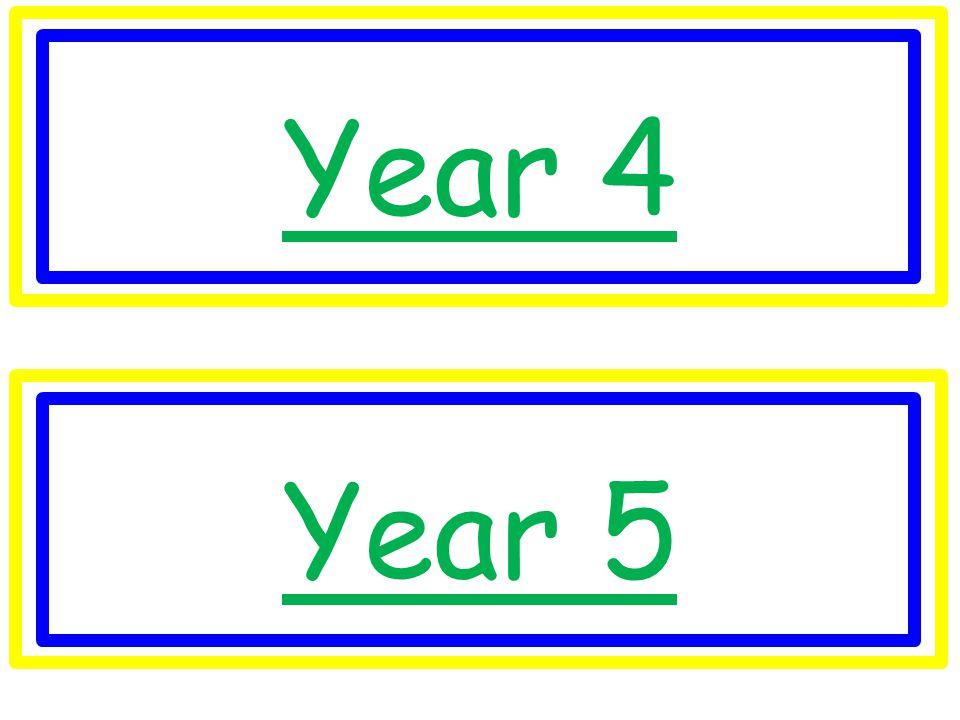 Year 4 Year 5