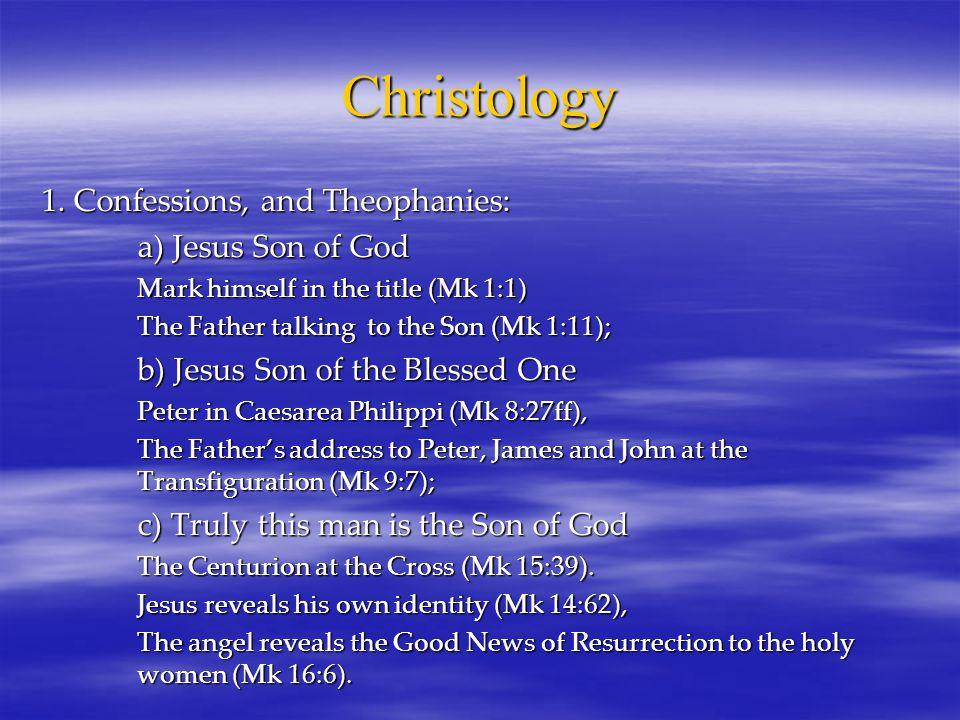 Christology 1.
