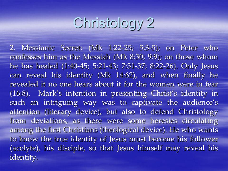 Christology 2 2.