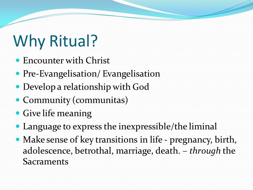 Why Ritual.