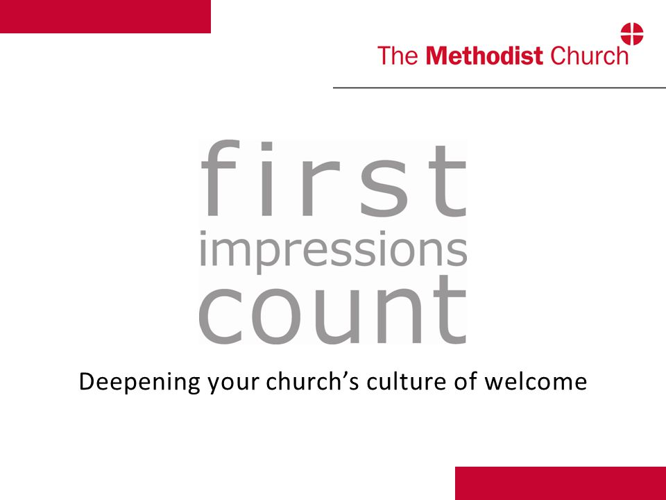 Deepening your church's culture of welcome