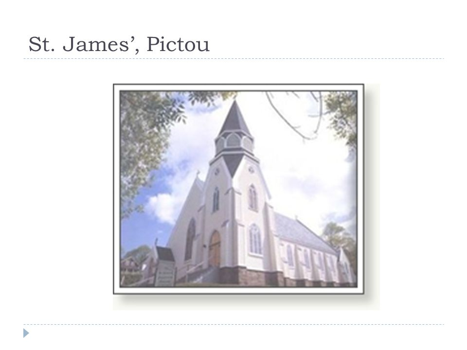 St. James', Pictou