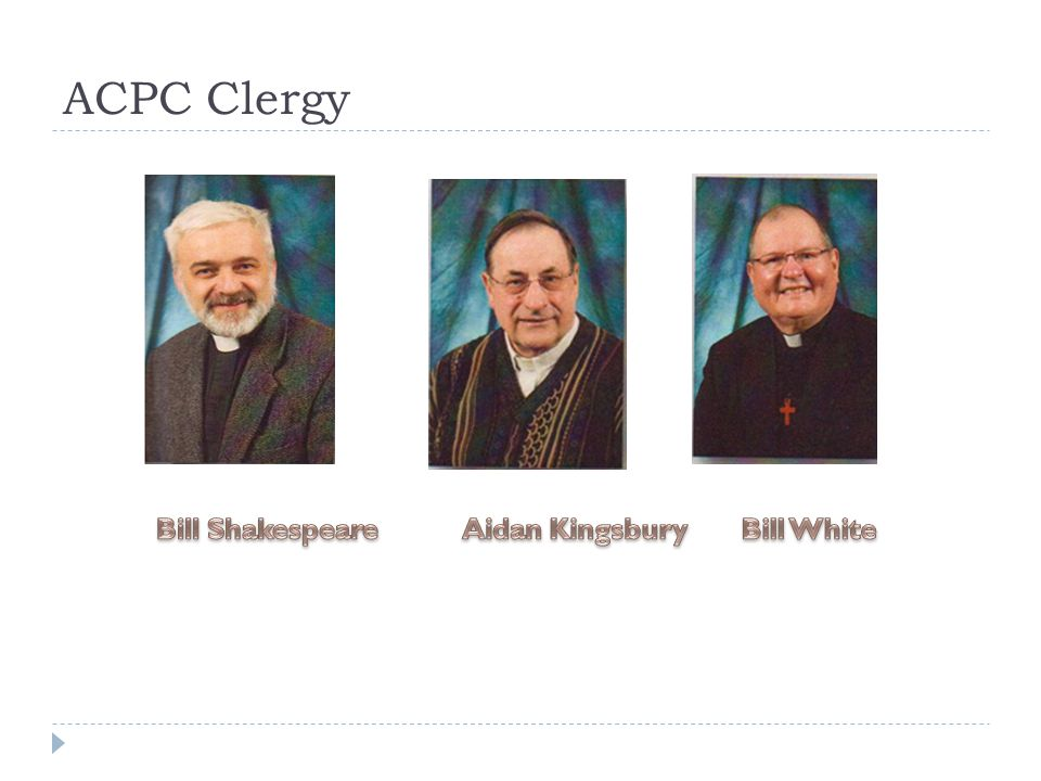 ACPC Clergy