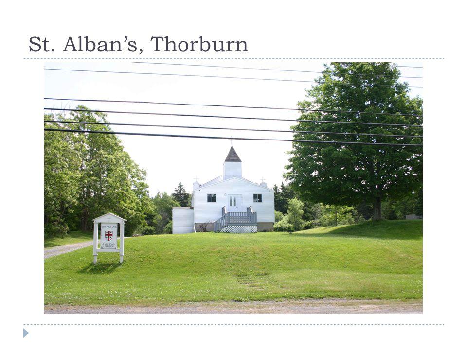 St. Alban's, Thorburn