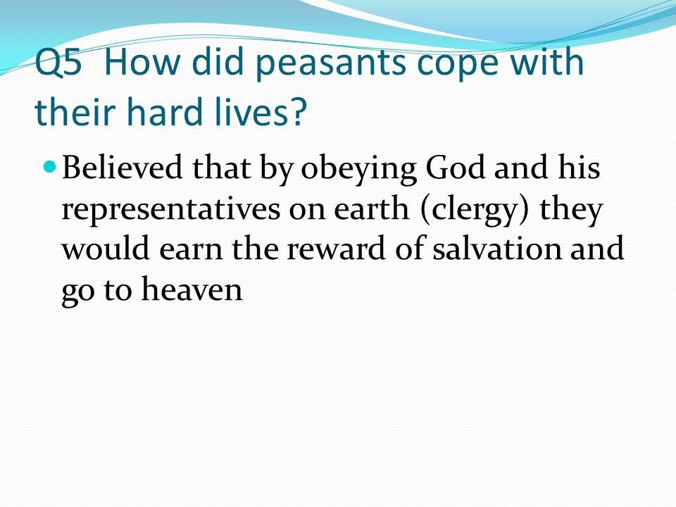Q6 What is another name for church law.