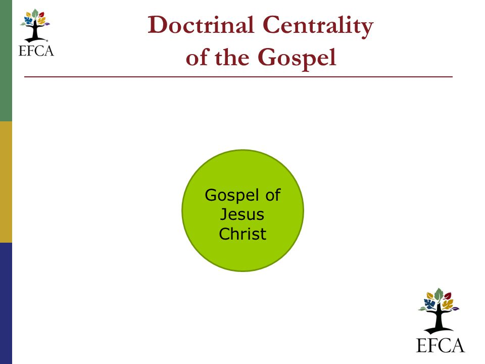 Gospel of Jesus Christ Doctrinal Centrality of the Gospel