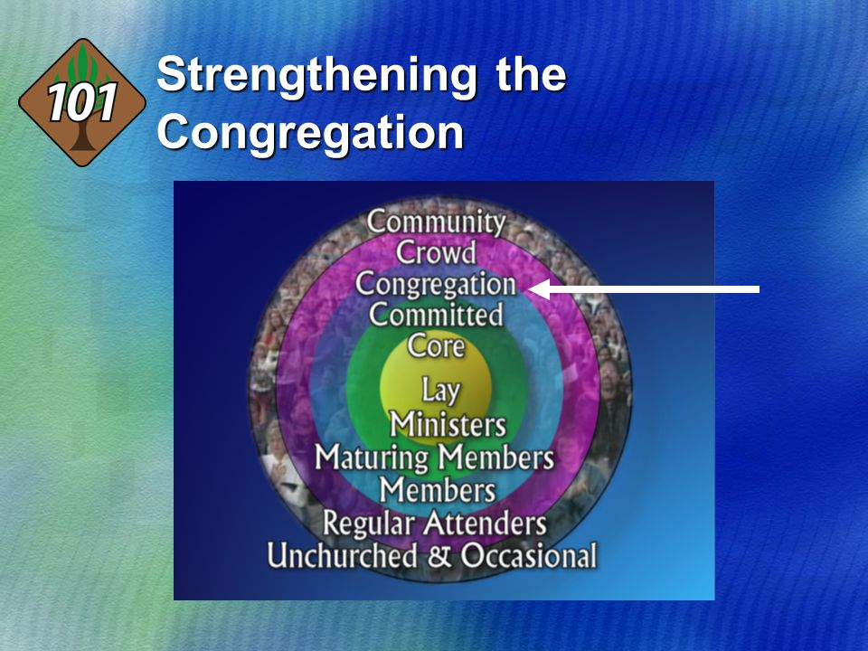 Strengthening the Congregation