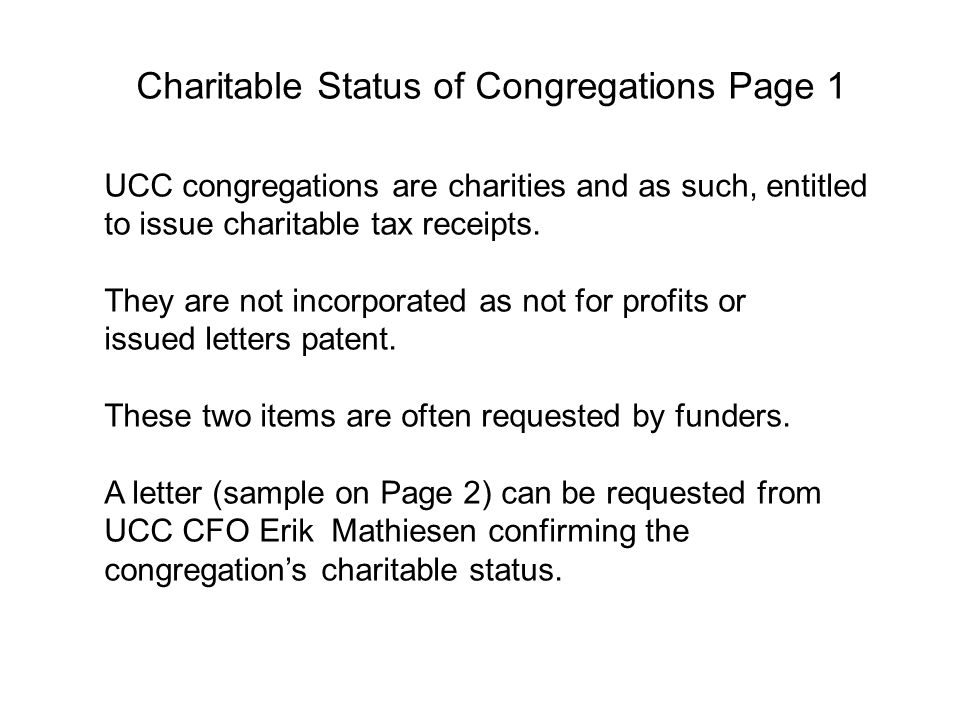 Funding from Local Organizations Page 80 Your congregation likely donates to local non- profit charitable organizations that share with your members, the work they're doing in the community.