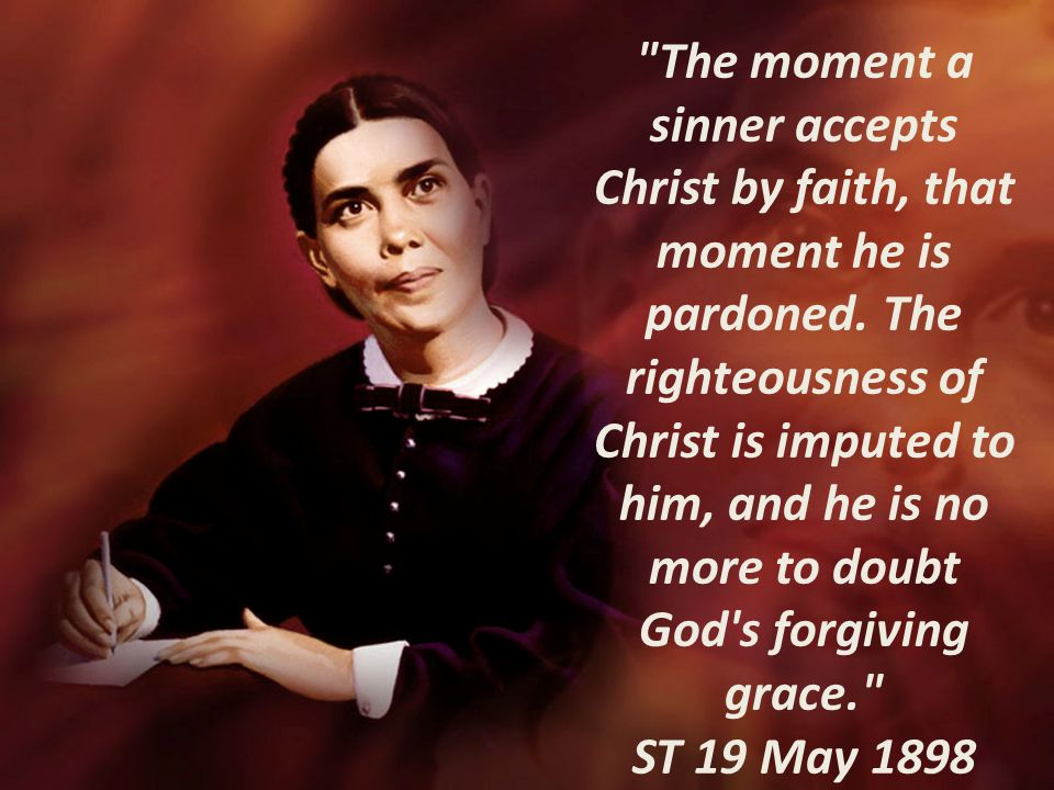 The moment a sinner accepts Christ by faith, that moment he is pardoned.