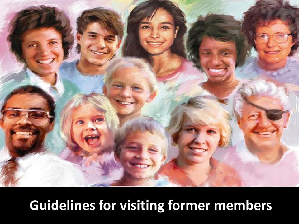 Guidelines for visiting former members