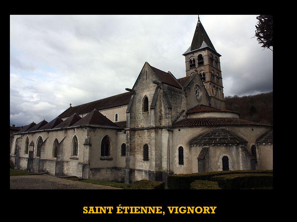 SAINT ÉTIENNE, VIGNORY
