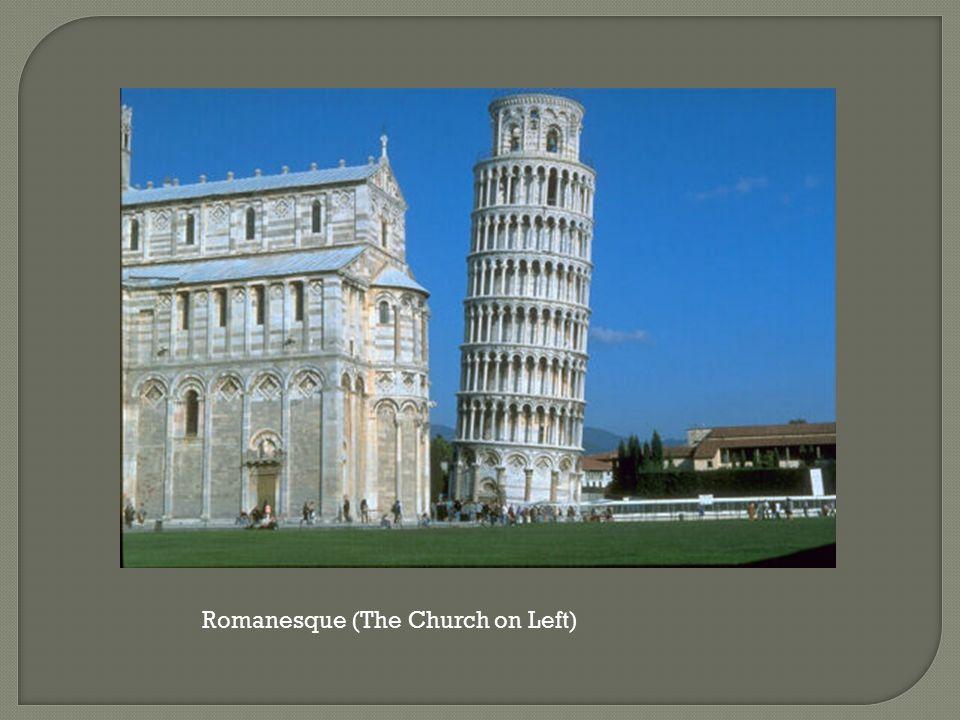 Romanesque (The Church on Left)