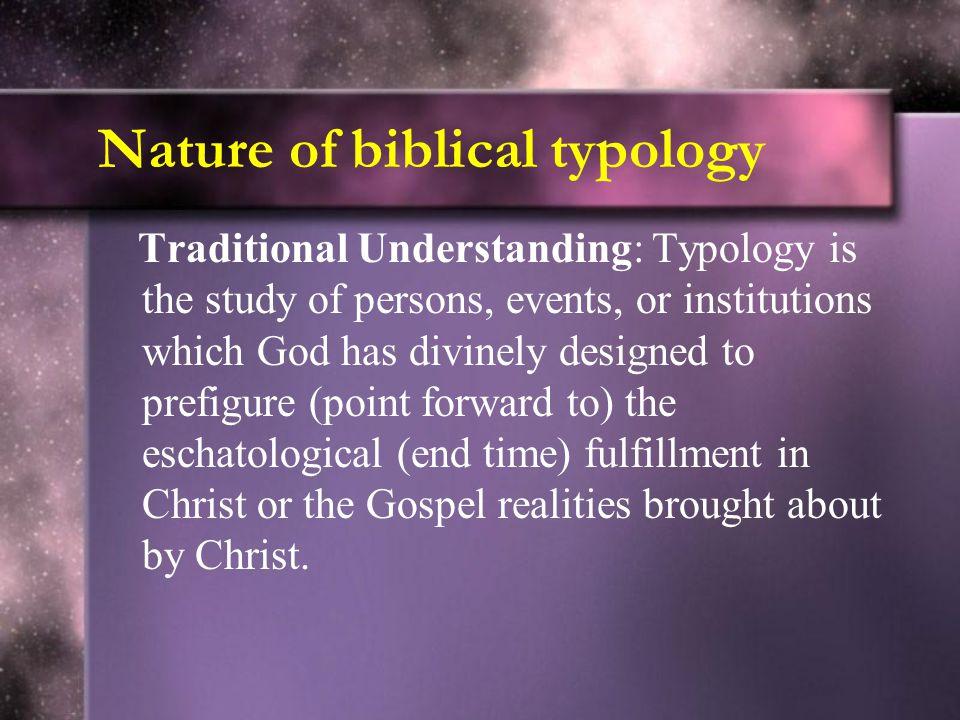 Basic Contours of Sanctuary typology Four main earthly OT sanctuaries/temples: 1.