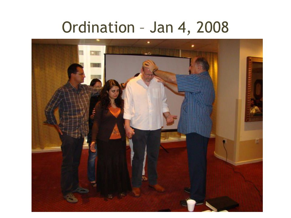 Ordination – Jan 4, 2008