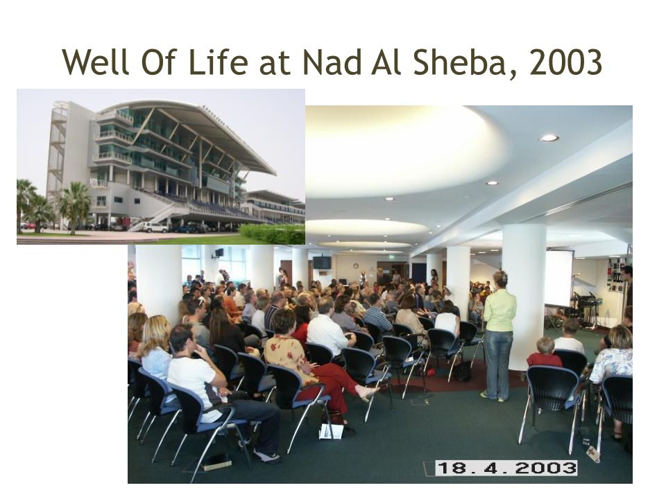 Well Of Life at Nad Al Sheba, 2003