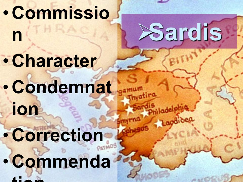 Informed and Ignited Where are we going… where have we been?  Sardis