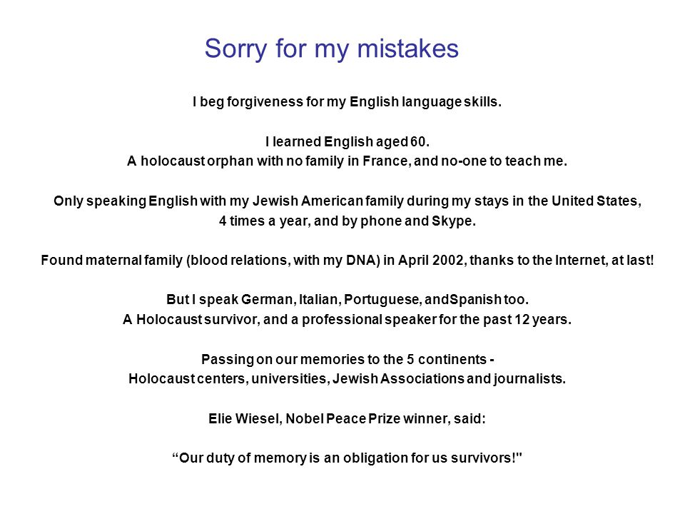 Sorry for my mistakes I beg forgiveness for my English language skills.